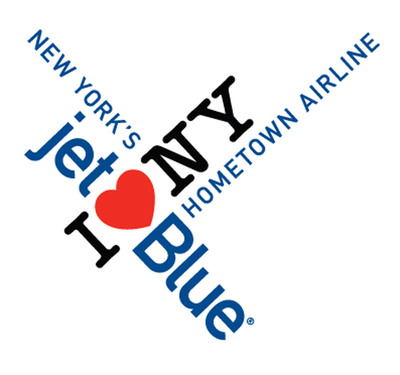 JetBlue's co-branded I LOVE NEW YORK logo.  (PRNewsFoto/JetBlue Airways)