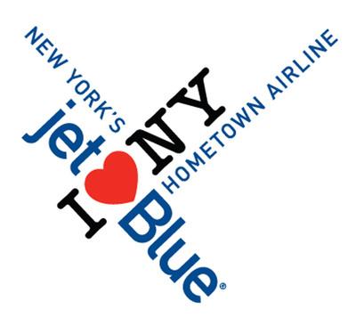 JetBlue's co-branded I LOVE NEW YORK logo.  (PRNewsFoto/JetBlue Airways)