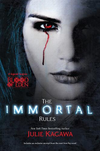 The Immortal Rules by Julie Kagawa.  (PRNewsFoto/Harlequin)