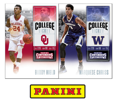 Panini America Inks Exclusive Autograph Trading Card & Memorabilia Deals With Top NBA Draft Prospects Marquese Chriss And Buddy Hield
