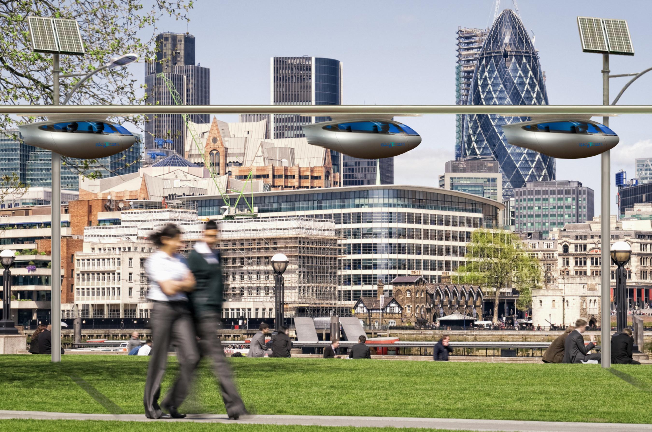 skyTran Announces Innovation Endeavors Investment