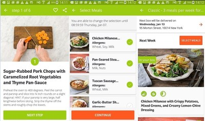HelloFresh customers now get a complete hassle-free experience: delicious recipes and fresh ingredients delivered to their home prepared easily and quickly with the interactive app