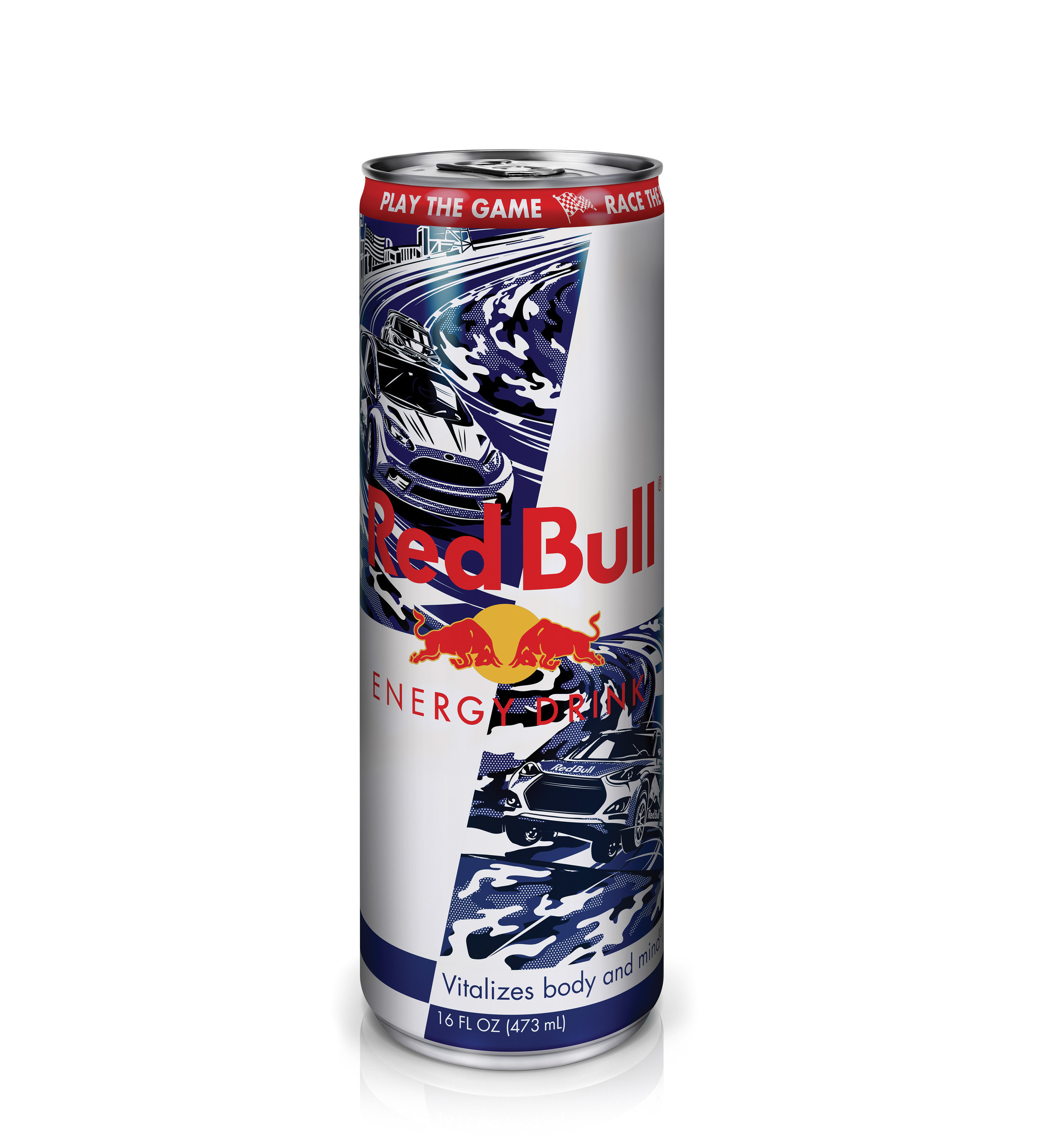 "Red Bull's 2015 limited edition camouflaged-themed can is available in military channels through the end of July. For the 4th year, a portion of the proceeds from cans sold on bases will benefit the Military Warriors Support Foundation. The can incorporates the Red Bull Global Rallycross series, which will host an event stop at the Marine Corps Air Station New River (MCAS New River) in Jacksonville, NC, airing nationally on NBC on Sunday, July 5th at 5:00 pm EDT. Fans can play the ""Red Bull Global Rallycross Challenge"" online game for free at http://rbgrc.redbull.com."