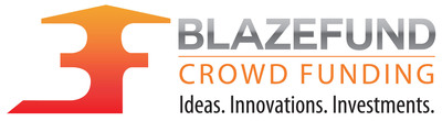 BlazeFund, equity crowd funding logo.  (PRNewsFoto/BlazeFund, Inc.)