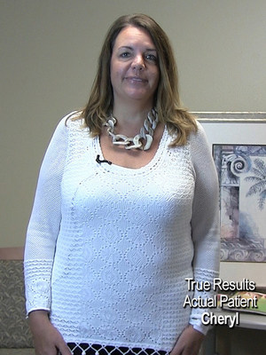 Cheryl is a True Results weight loss patient who had the first ORBERA Intragastric Balloon procedure in Houston.
