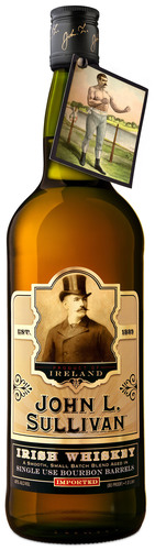 John L. Sullivan® Irish Whiskey receives 93 POINT RATING from Wine Enthusiast Magazine!