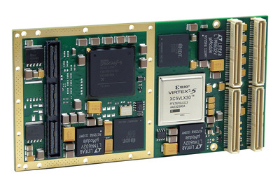 New PMC Module with Reconfigurable Spartan-6 FPGA.  (PRNewsFoto/Acromag)