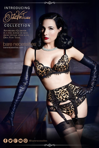 Bare Necessities introduces Dita Von Teese Lingerie Collection (PRNewsFoto/Bare Necessities)