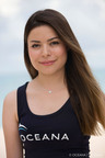 Miranda Cosgrove Swims with Dolphins in New Oceana PSA