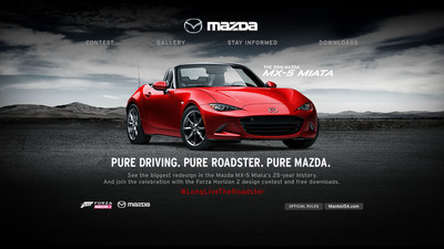 Mazda Teams Up With Xbox To Launch 2016 MX-5