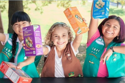 Girl Scouts of the USA announces official start to cookie season. Visit girlscoutcookies.org to find cookies in your area.