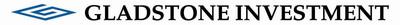 Gladstone Investment. (PRNewsFoto/Gladstone Investment) (PRNewsFoto/GLADSTONE INVESTMENT)