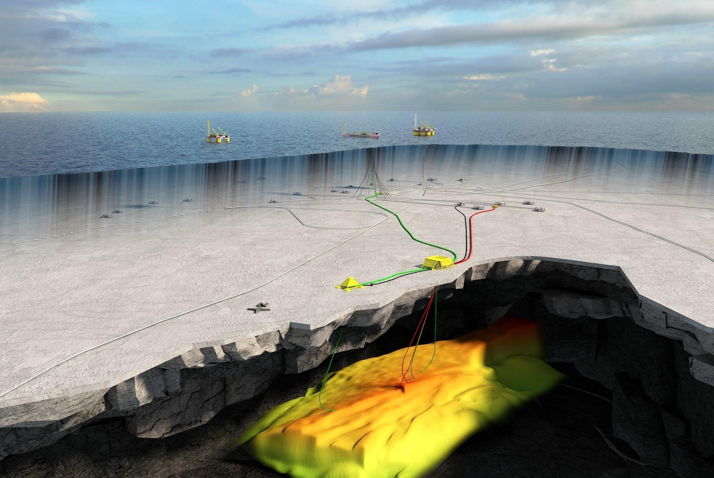 Statoil Trestakk Development - Reservoir Illustration