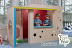 Parenting Magazine Selects CedarWorks Rhapsody Product a 2012 Toy of the Year!  Rhapsody Modern Playhouse chosen by leading national family publication as a great holiday gift idea. CedarWorks Rhapsody product line includes premium indoor playsets, playbeds and playhouses featuring exquisite design, natural materials, and concierge-level customer service. Rhapsody products are finely craft in Rockport, Maine and Chsitmas delivery is guaranteed for order received by December 1.  Visit www.cedarworks.com for complete product information or call today toll-free 800.462.3327.  (PRNewsFoto/CedarWorks)