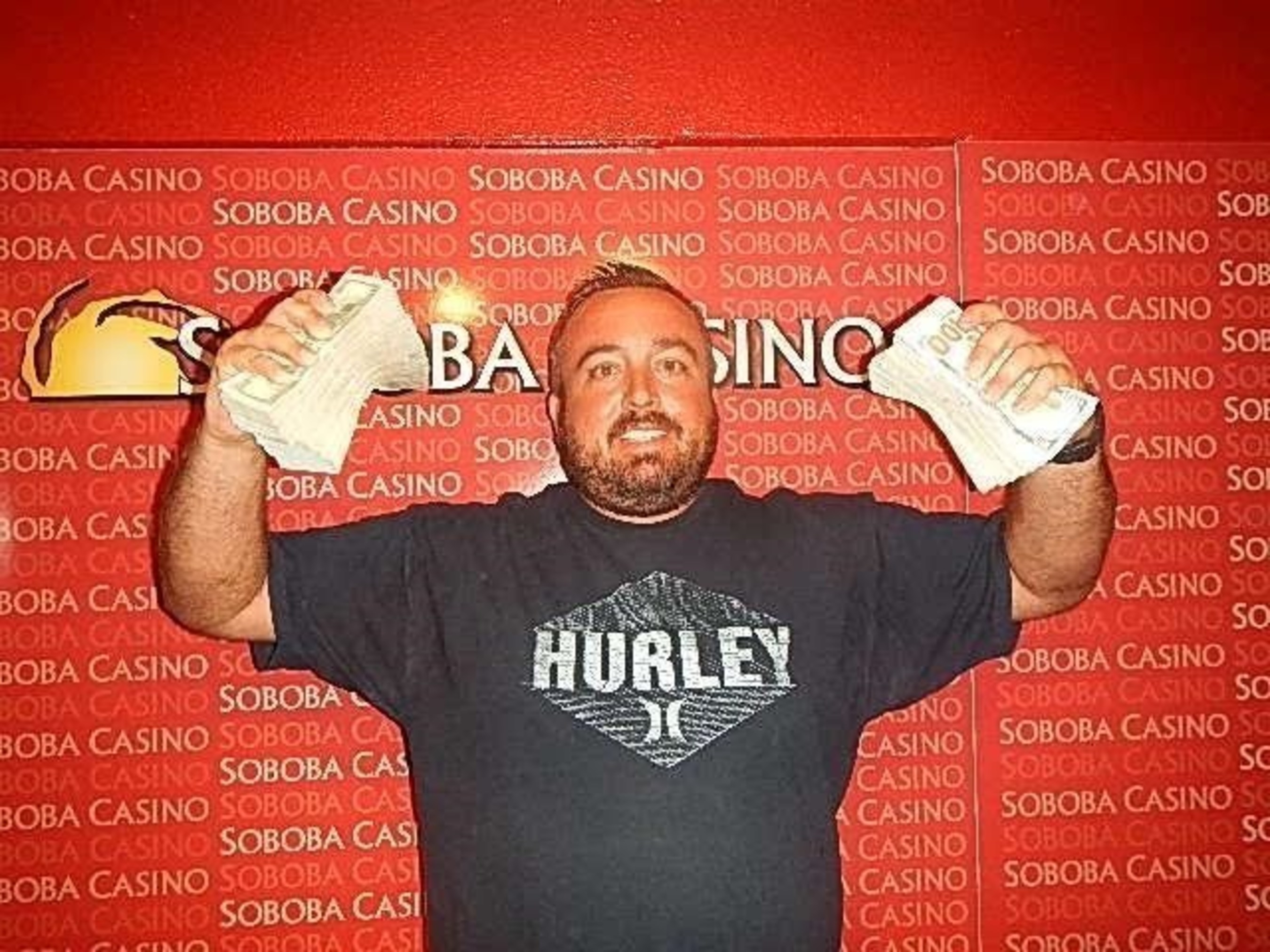 Keith Hall claims $196,632 Blackjack Progressive jackpot at Soboba Casino