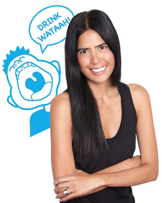 Rose Cameron Founder/CEO of WAT-AAH!, First Functional Water For Kids.  (PRNewsFoto/WAT-AAH!)