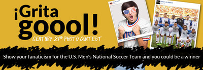 CENTURY 21(R) rewards the fanaticism for the U.S. Men's National Soccer Team with a Photo Contest on Century 21 Espanol Facebook page