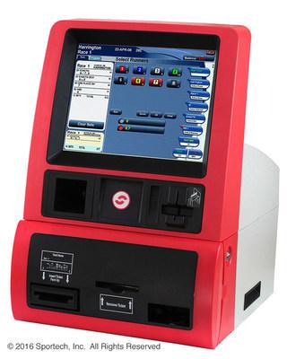 Sportech's new BetJet SL 2.5 self-service betting terminal
