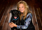 Kristen Levine of Kristen Levine Pet Living and her dog, Chilly.