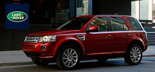 The 2013 Land Rover LR2 features one of the most plush interiors in any luxury SUV while still stays faithful ...