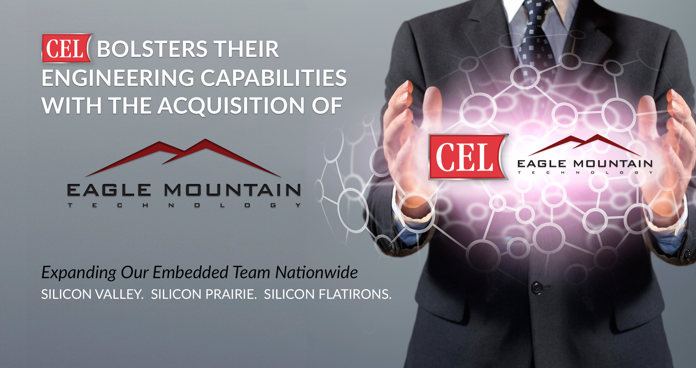 CEL Expands Engineering Team Through the Acquisition of Eagle Mountain Technology