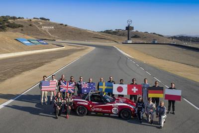 """Sparky"" Wins Inaugural Mazda MX-5 Cup Global Invitational"