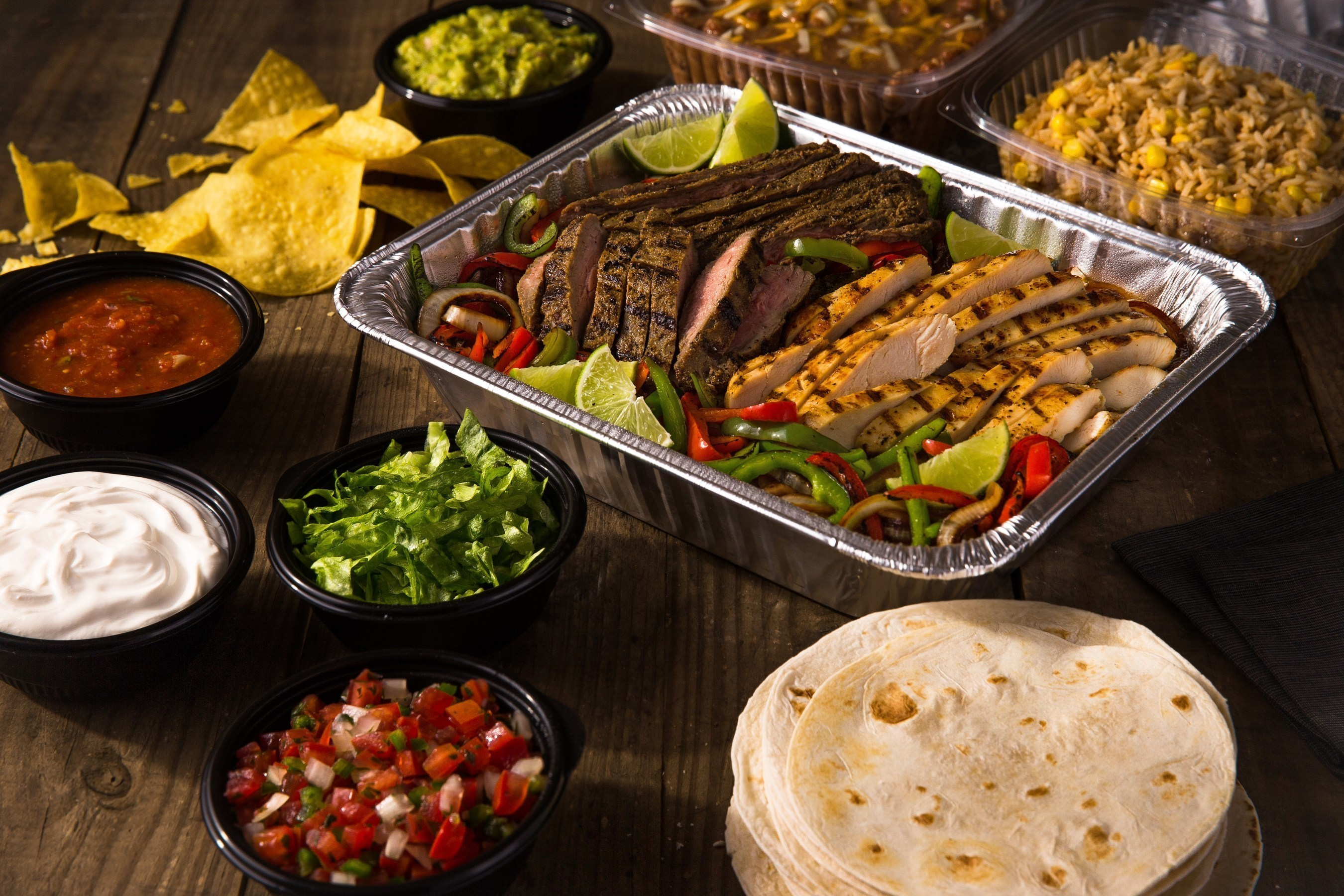 On the Border(R) is celebrating this holiday season by giving its guests 15 percent off all party platter and catering orders from Nov.12, 2016 through Jan. 1, 2017, at participating locations.