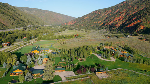 Meanwhile Ranch, A Luxury Mountain Estate Of Classic Western Grandeur Just Minutes From World-Class