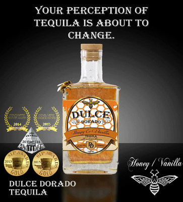 Dulce Dorado, the first infused honey-vanilla Tequila in the USA. Your perception of Tequila is about to change.