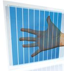 Heliatek sets new efficiency record at 7.2% for 40% light transparency organic solar cell making it perfect for turning windows into photovoltaic harvesters.