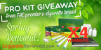 Green Smoke Electronic Cigarette Launches the Biggest Sweepstakes of the Year.  (PRNewsFoto/E Cigarette Reviewed)