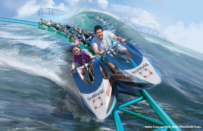 SeaWorld Entertainment Unveils Major New Attractions For 2017