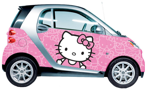 smart USA and Sanrio Partner to Offer Multiple Car Wrap Designs Featuring Hello Kitty® in Various