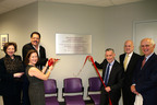 FEGS Health & Human Services is joined by board of directors and supporters to dedicate the Fleischer Family Computer Resource and Learning Technology Center at the Brooklyn Resource Center. Left-to-Right: Gail A. Magaliff, Chief Executive Officer, FEGS; Steven Fleischer, Trustee, Shirley and William Fleischer Family Foundation; Vicki Compter, Director of Capital Development and Special Initiatives, UJA-Federation of New York; Jeff Schoenfeld, Chair of Caring Commission, UJA-Federation of New York; Ira Machowsky, Executive Vice President, FEGS; Michael Preston, Board of Directors, FEGS.  (PRNewsFoto/FEGS Health & Human Services)