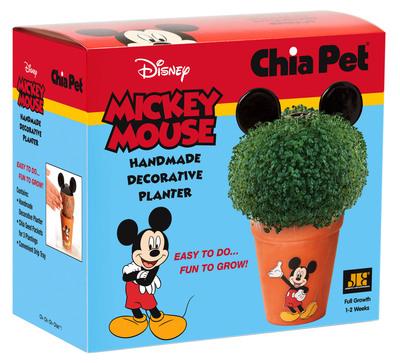 Ch-Ch-Ch-Chia! Chia Mickey Mouse.  (PRNewsFoto/Joseph Enterprises, Inc.)