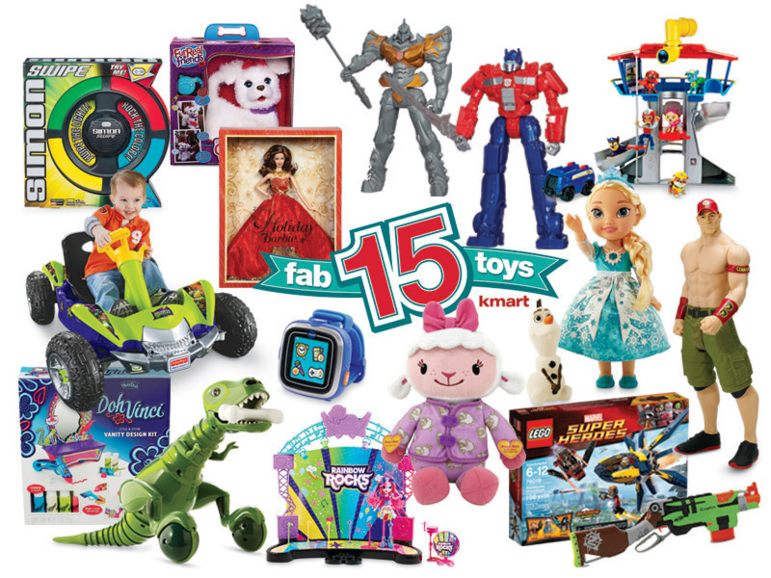 Toys At Kmart : Kmart fab toy shoppers to make season brighter for st