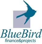 BlueBird logo (PRNewsFoto/Bluebird Finance and Projects)
