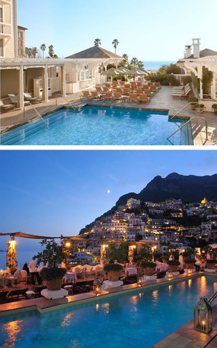 Coastal Collaboration: Luxury hotels, Shutters on the Beach and Le Sirenuse, celebrate of the exquisite ...