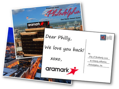 Aramark, the world's largest U.S.-based provider of food and facilities services and uniforms, announced today that the company's global headquarters will remain in Philadelphia with the selection of an office site pending. Aramark has been considering the location of its headquarters since last year in advance of its current lease expiring in 2018. A recently completed formal review assessed potential states and cities, including Philadelphia -- the company's home since 1961. A variety of key factors were evaluated that included the overall business environment, access to talent, costs, diversity, transportation and quality of life.