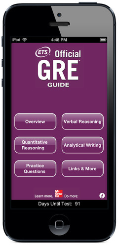 The Official GRE(R) Guide mobile app, now available, is the best, most authoritative preparation app for the ...