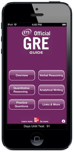 Offizielle GRE®-App für Mobilgeräte jetzt im Handel
