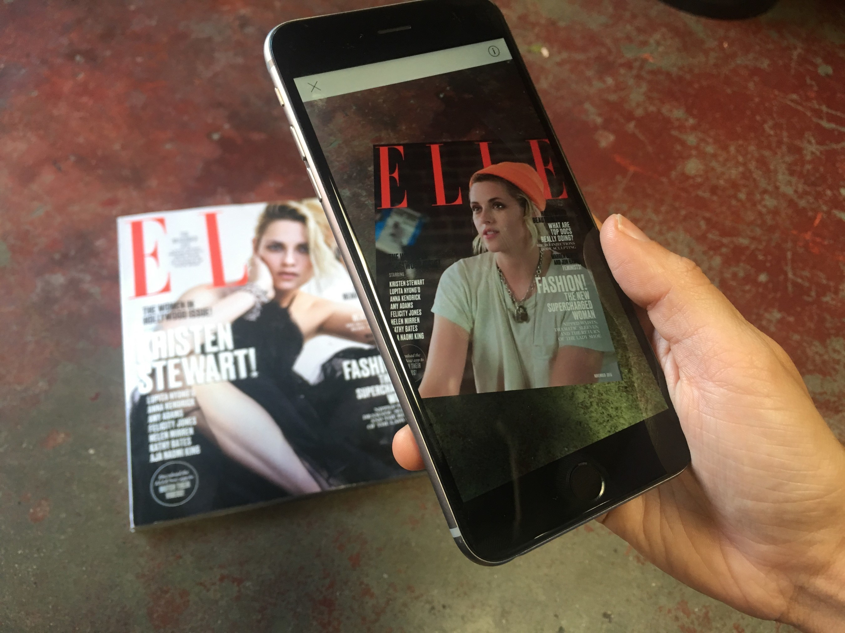 ELLE And AOL Bring Augmented Reality To November's 'Women in Hollywood' Issue