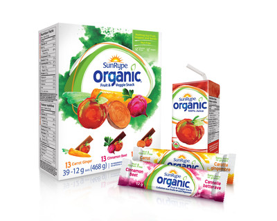 SunRype Organics Fruit & Vegetable Snack Design: Anthem (http://www.anthemww.com)