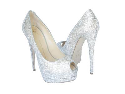 Million-Dollar Shoes from Crystal Heels.  (PRNewsFoto/Crystal Heels)