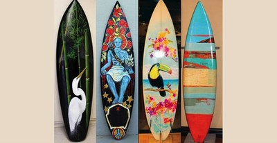 Surfboard Festival: October 1 - December 3, 2016 -- Come to Morro Bay and check out the third Annual Morro Bay Surfboard Art Festival, part of the Inaugural Maritime Discovery Month.