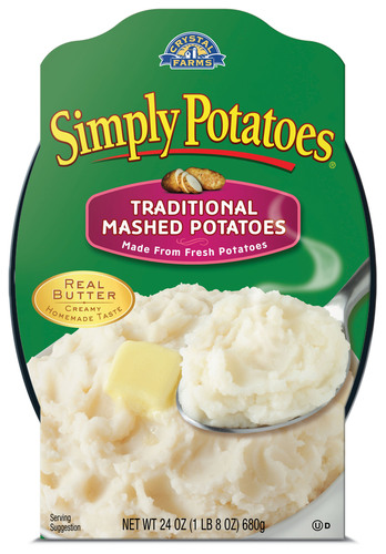 Simply-fy holiday mealtime with Simply Potatoes.  (PRNewsFoto/Crystal Farms)