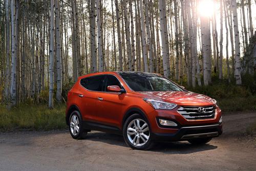 2013 Hyundai Santa Fe Sport.  (PRNewsFoto/Hyundai Motor America)