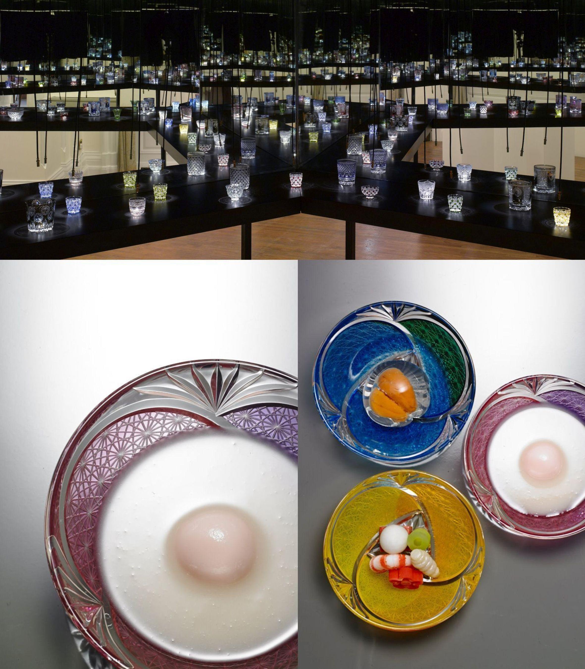 Embassy of Japan in the UK hosts one-off exhibition celebrating stunning Edo Kiriko (Japanese cut glass) (PRNewsFoto/JaK Studio)
