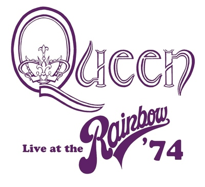 Queen - Live At The Rainbow '74 logo