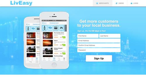 LivEasy - Homepage (PRNewsFoto/LivEasy LLC)